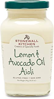 product image for Stonewall Kitchen Lemon & Avocado Oil Aioli, 10.25 oz