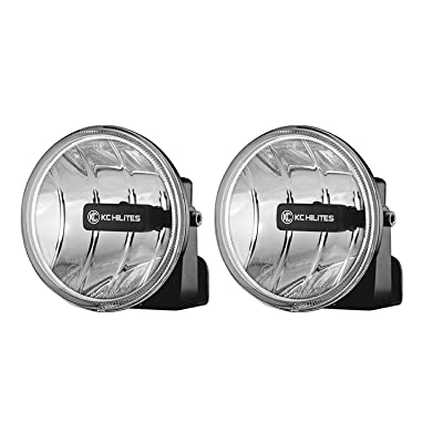 KC HiLiTES 495 Individual Gravity G4 Amber LED Fog Light (SAE/ECE): Automotive