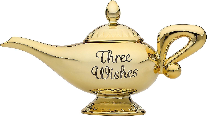 Atyhao Tetera Aladdin Plata Tetera de Deseos Aromaterapia Horno Decoraci/ón para el hogar Decoraci/ón para el hogar Decoraci/ón de la Mesa