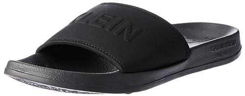 Calvin Klein Slide Sandals UK 4-5 Pvh