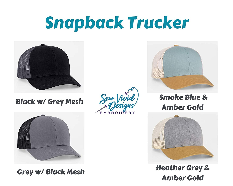 American flag Trucker Hat USA Flag American Flag Hat Snapback and Flexfit Options