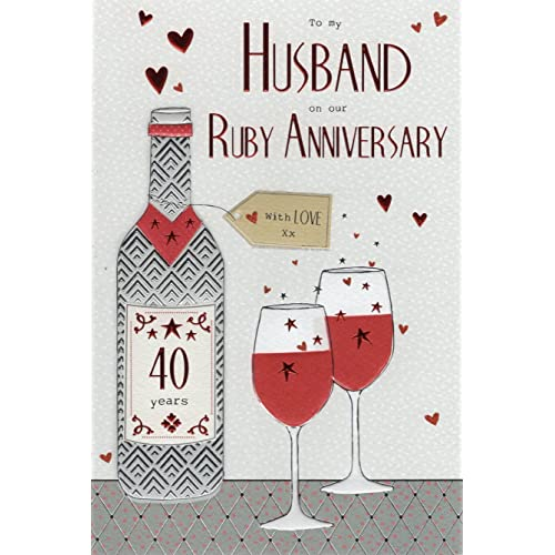 Wedding Gifts For Spouse: Ruby Wedding Gifts For Husband: Amazon.co.uk
