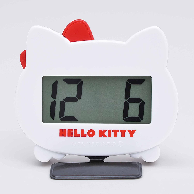 SEIWA KT483 Hello Kitty - Reloj de Pared, Color Blanco: Amazon.es: Coche y moto