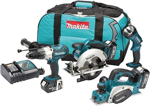 Makita DK18011 - Juego de herramientas eléctricas (18 voltios ...