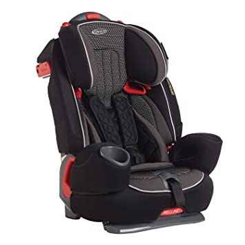 daa0fcf22bde Graco Nautilus Elite Harnessed Booster Car Seat, Group 1/2/3, Gravity