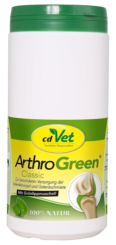 cdVet Naturprodukte - 287 / ArthroGreen - Complément alimentaire contre douleurs articulaires - 345 g cdVet Naturprodukte GmbH