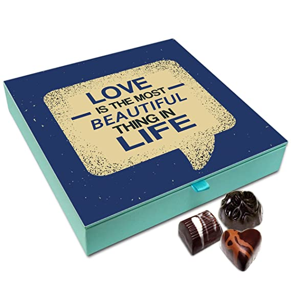 Chocholik Gift Box Love Is The Most Beautiful Thing In Life