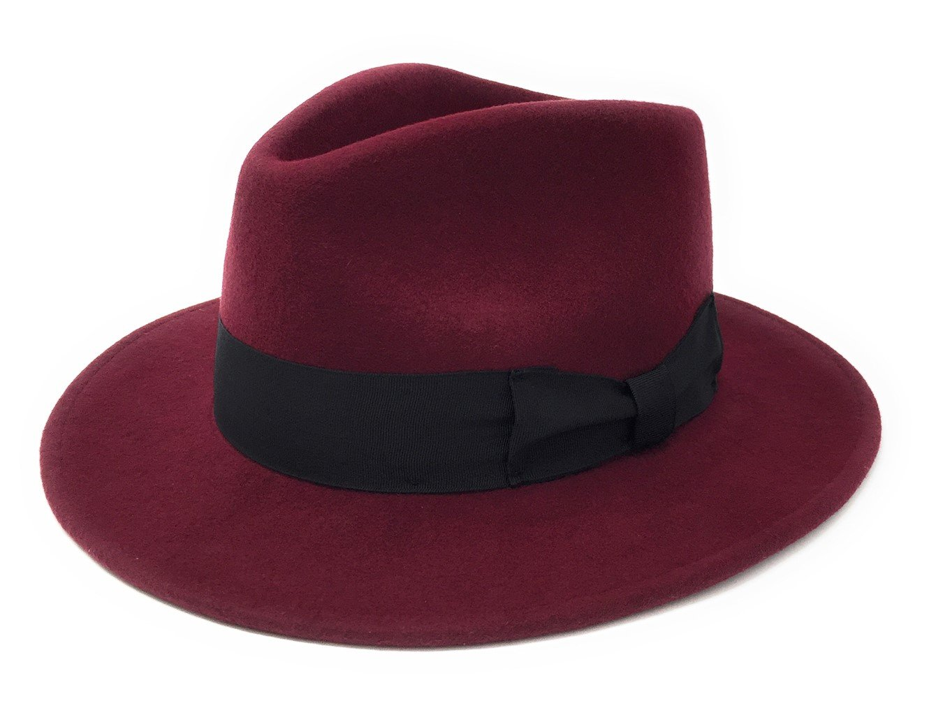 Cotswold Country Hats Mens Handmade 100% Premium Wool Felt Indiana Style Crushable Fedora Hat - Small, Medium, Large, XL, 2XL. Fabric Protector Treated - Indy