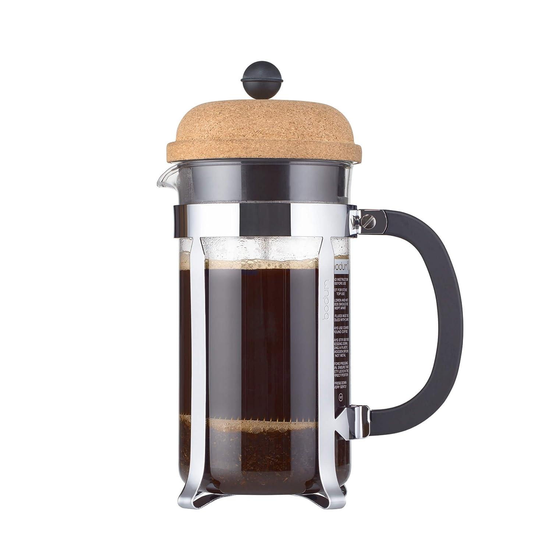 Bodum 1928-109S 8 Cup 34 oz Chambord French Press Coffee Maker, Cork