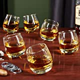 Roly Poly Rocking Whiskey Glasses