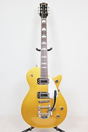 GRETSCH Electromatic colección g5438t Pro Jet con Bigsby (oro) nueva guitarra eléctrica: Amazon.es: Instrumentos musicales