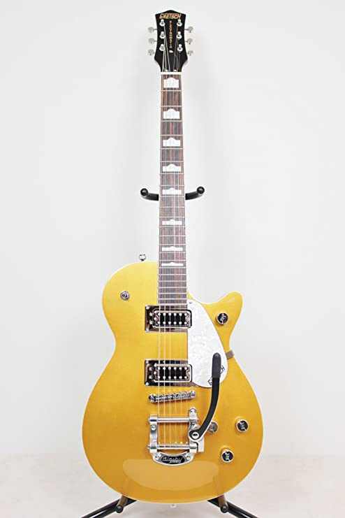 GRETSCH Electromatic colección g5438t Pro Jet con Bigsby (oro ...