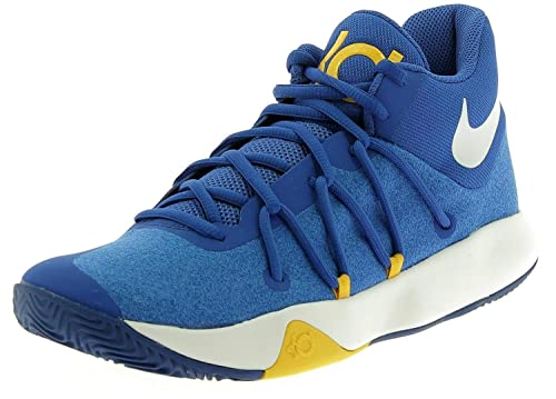 ce6de8aeb2d2 Nike KD Trey 5 V - 897638400 - Color Yellow-Blue-White - Size  12.5  Buy  Online at Low Prices in India - Amazon.in