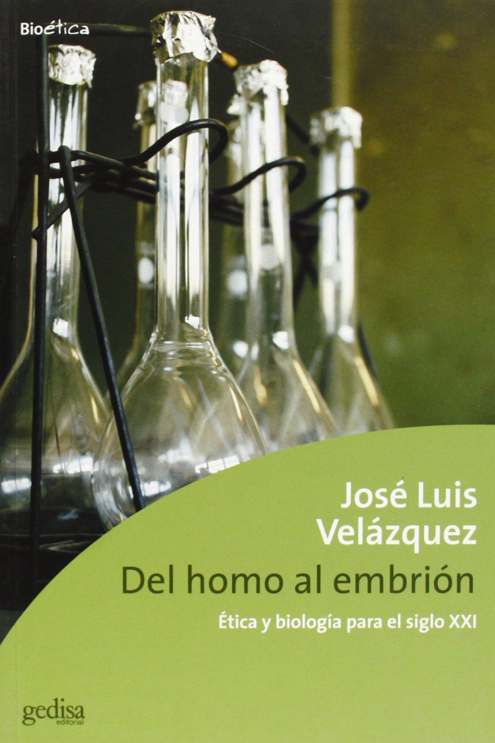 del Homo Al Embrion (Spanish Edition) ebook