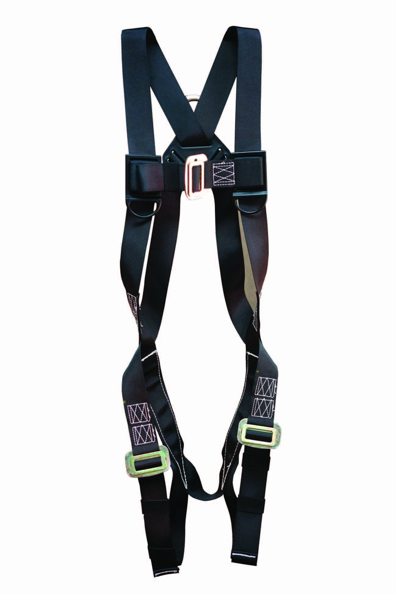 Elk River 57102 StageHand 1 D-Ring Harness with Mating Buckle and Fall Indicator, Fits Small to Large, Black