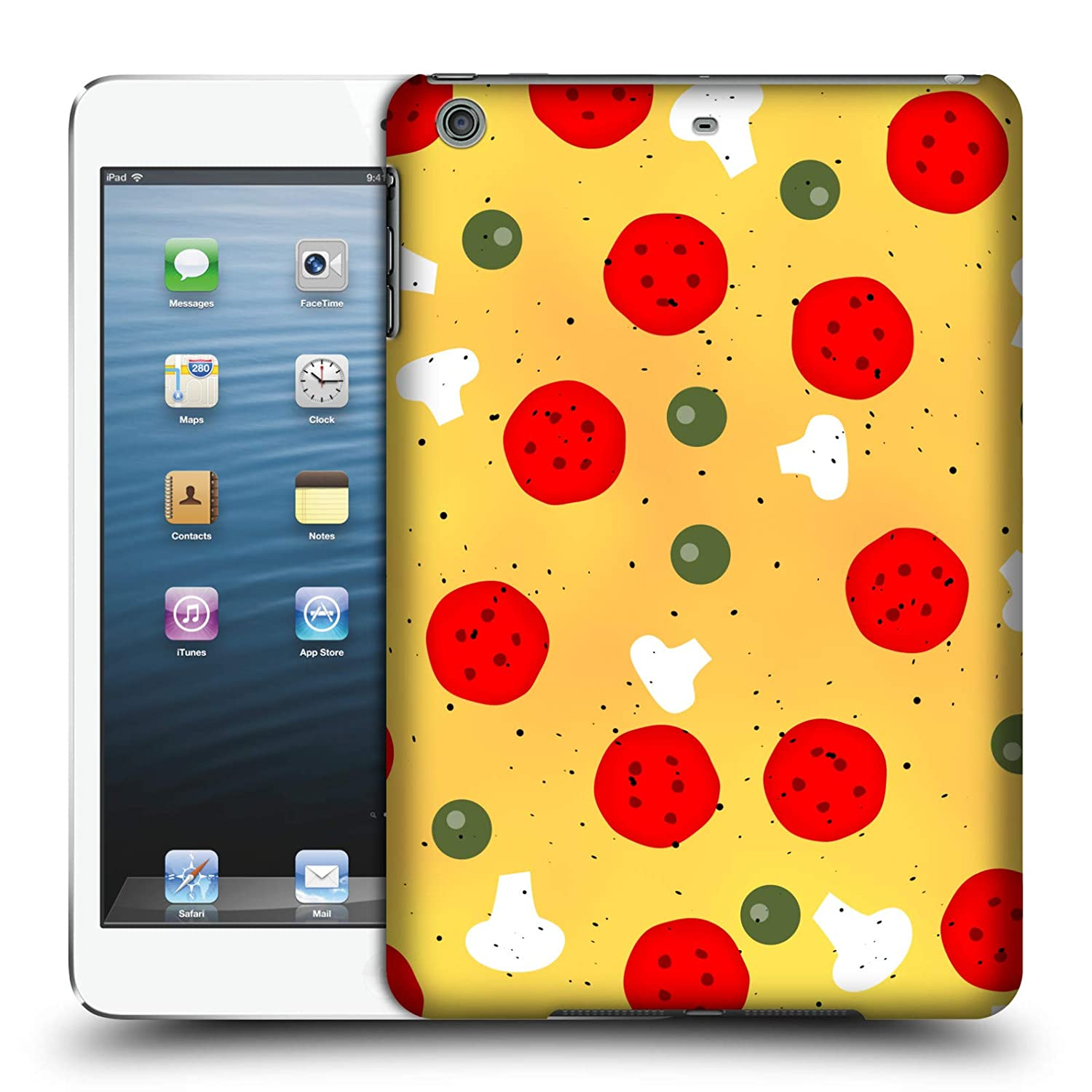 Amazon com: Official PLdesign Pizza Food Hard Back Case for iPad