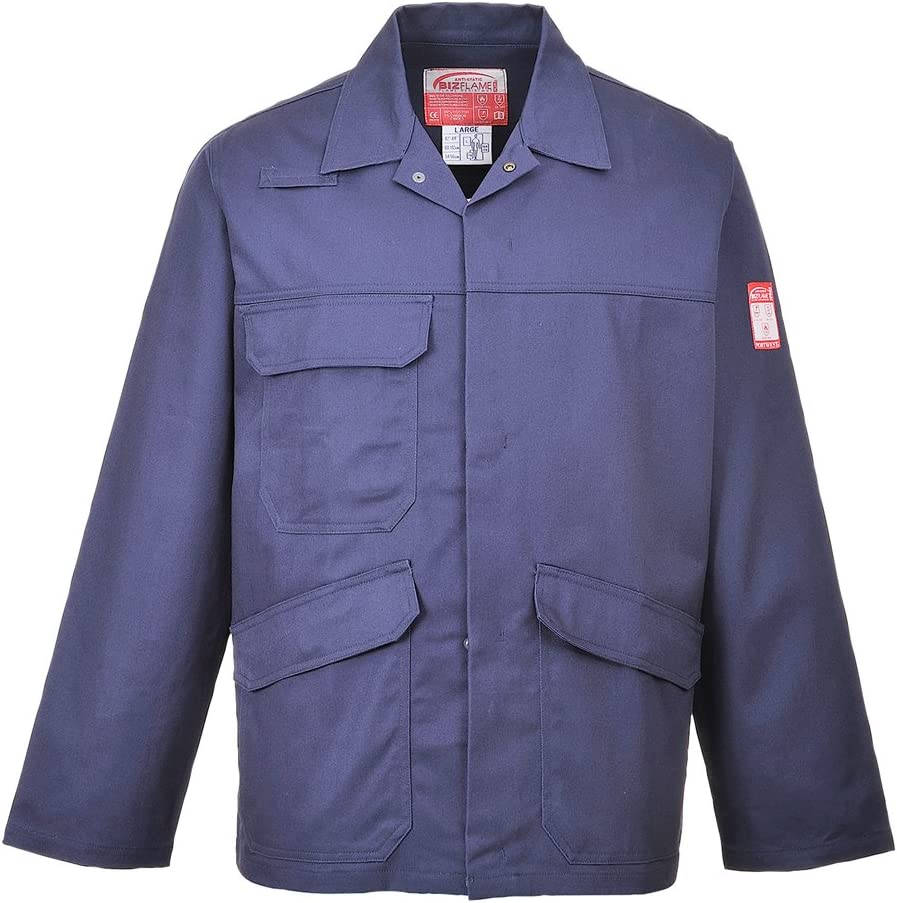 Grey Portwest FR35GRRXXL Bizflame Pro Jacket 2X-Large