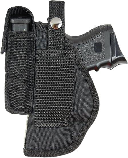 New Barsony OWB Gun Belt Loop Holster for Colt Kimber Compact Sub-Comp 9mm 40 45