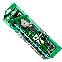 Jogo De Soquetes Vortex X6 Chave De Ajuste Belzer Verde 10-19mm