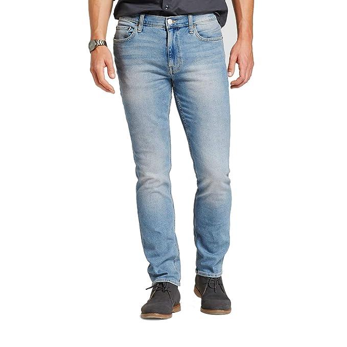 Amazon.com: Pantalones vaqueros ajustados para hombre ...
