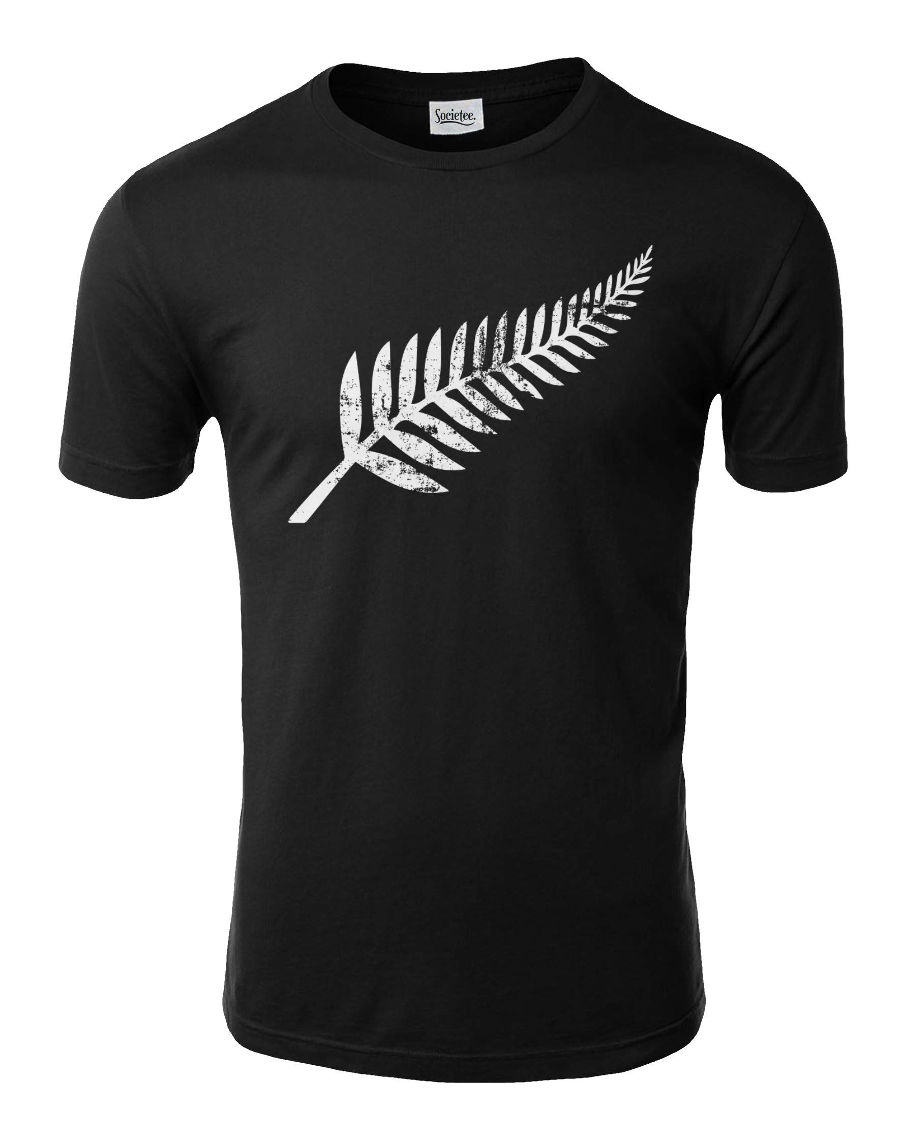 New Zealand Pride Kiwi Silver Fern Southern Cross T Shirt 8187