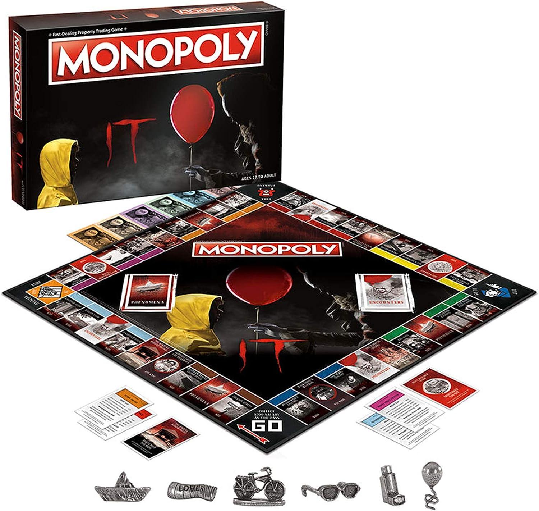 IT Monopoly Juego de Mesa: Amazon.es: Juguetes y juegos