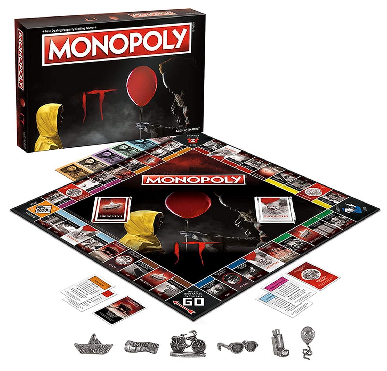 Amazon.com: Monopoly IT Juego de tablero basado en el Drama ...