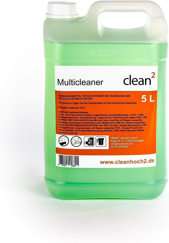 Clean2 5 Liter Reiniger Teppichreiniger Polsterreiniger Reinigungspistole Innenreiniger Auto