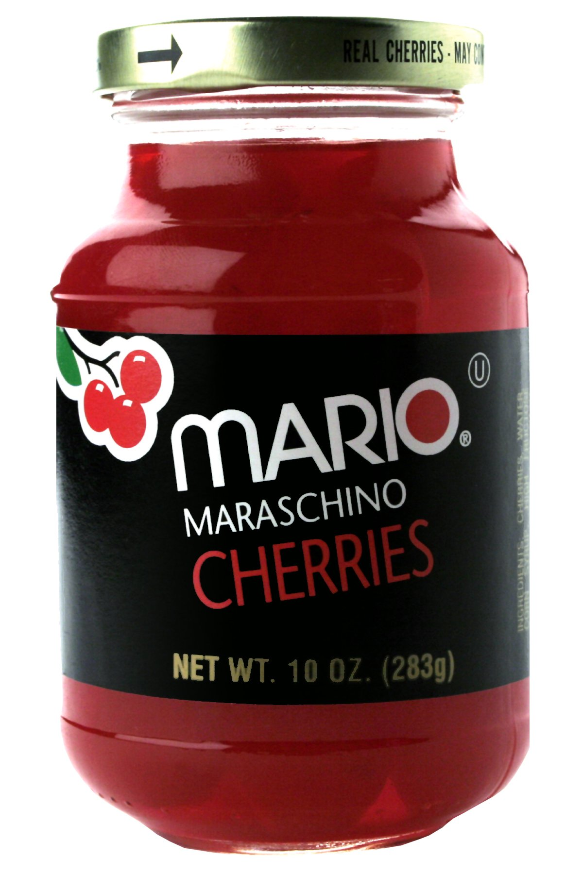 Mario Camacho Foods Marashino Cherries, 4.80 Ounce (Pack of 12)