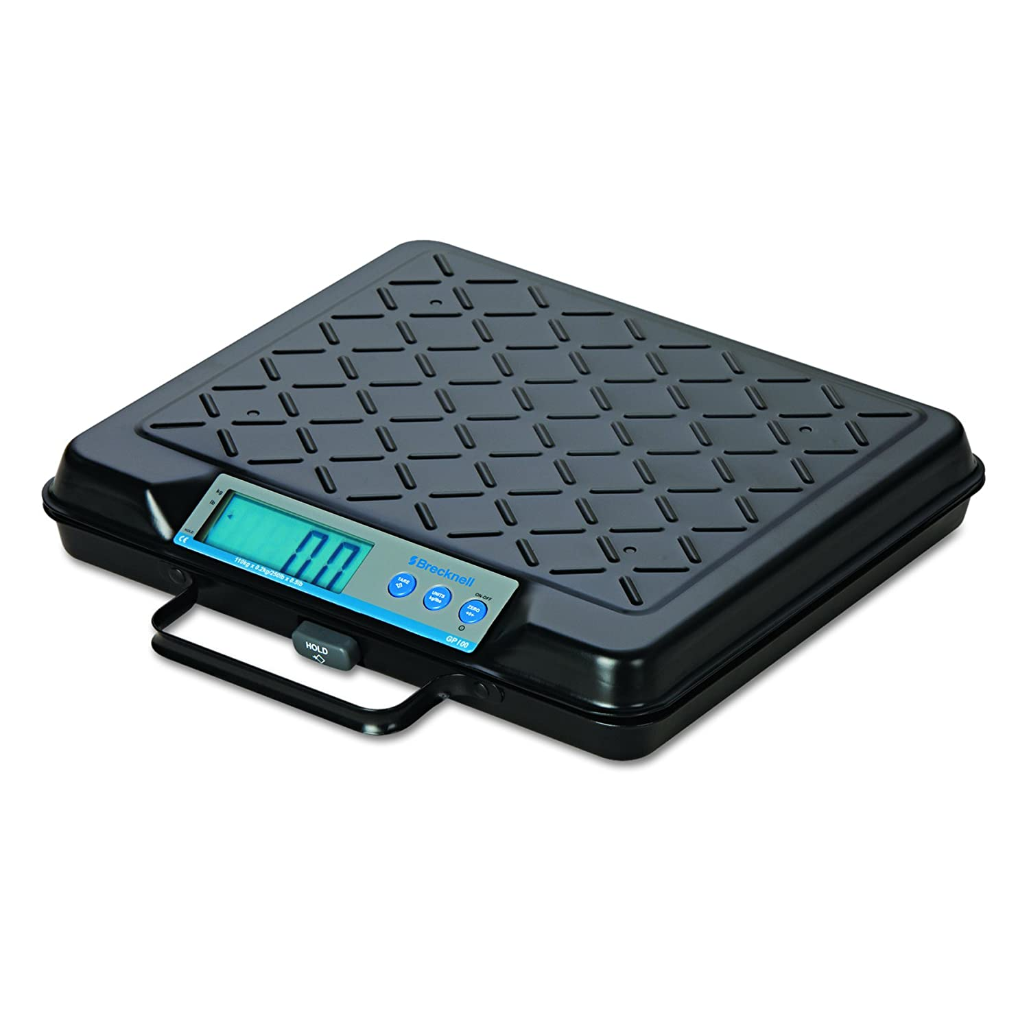 12 x 10 Platform Brecknell GP100 Portable Electronic Utility Bench Scale 100lb Capacity