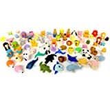 Kool KiDz 30 Assorted Erasers, Animal Collection Random Selected Eraser Puzzle Includes Unicorn