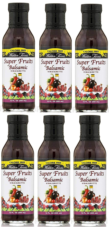 Walden Farms Super Fruits Balsamic Vinaigrette 12 fl oz, 6 Pack