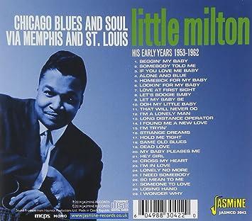 Little Milton Chicago Blues And Soul Via Memphis And St Louis