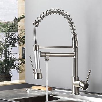 Wundervoll Gimili Spültischarmatur Spiralfeder Waschbecken Wasserhahn Küche  CR52
