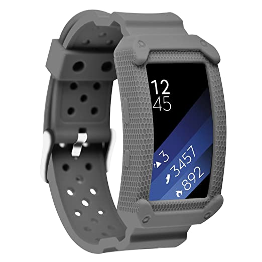 11 opinioni per Greatfine Samsung Gear Fit2 Cinturino Morbido Sportivo di Ricambio Banda