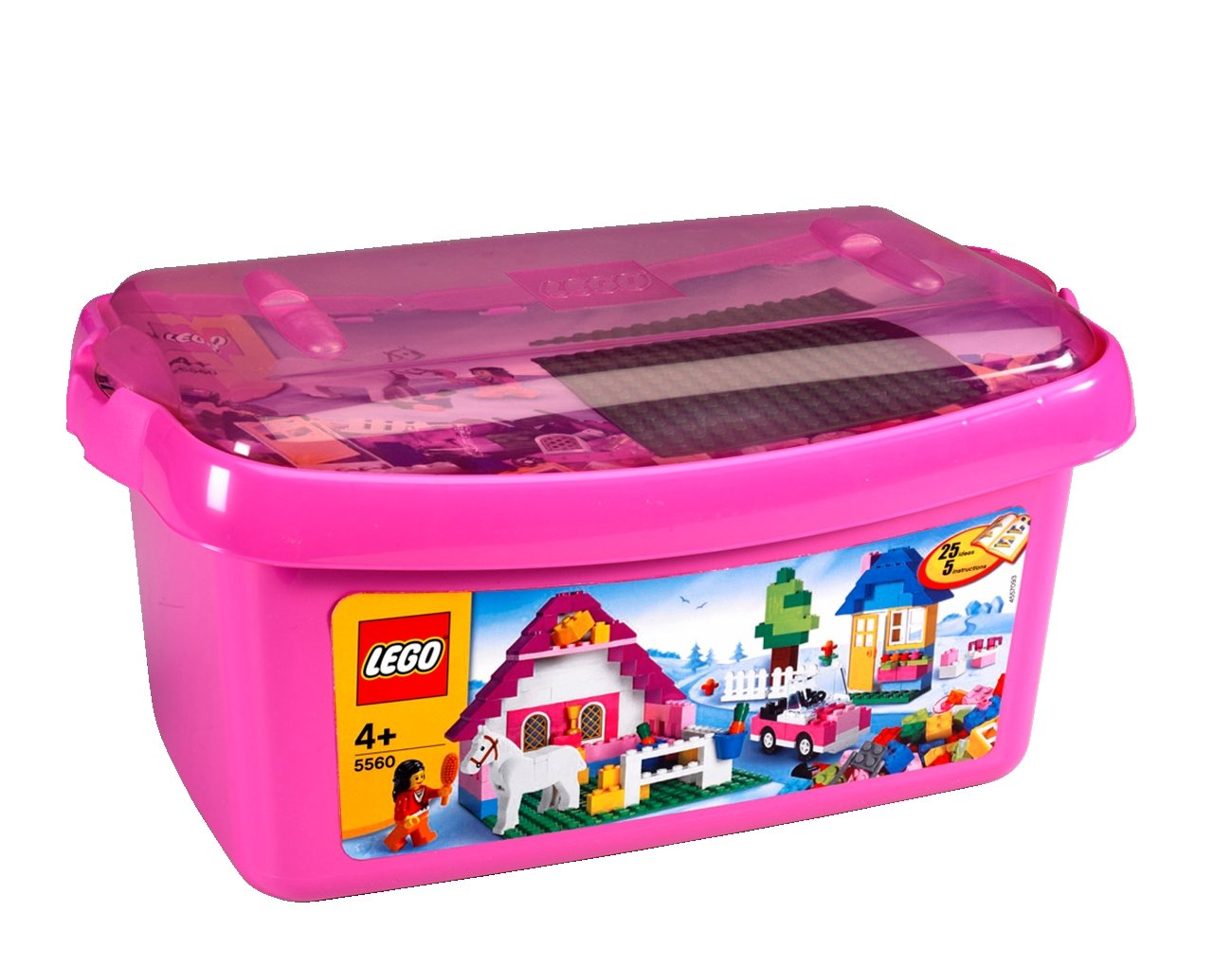 lego 5560 briques jeu de construction grande bote filles amazonfr jeux et jouets