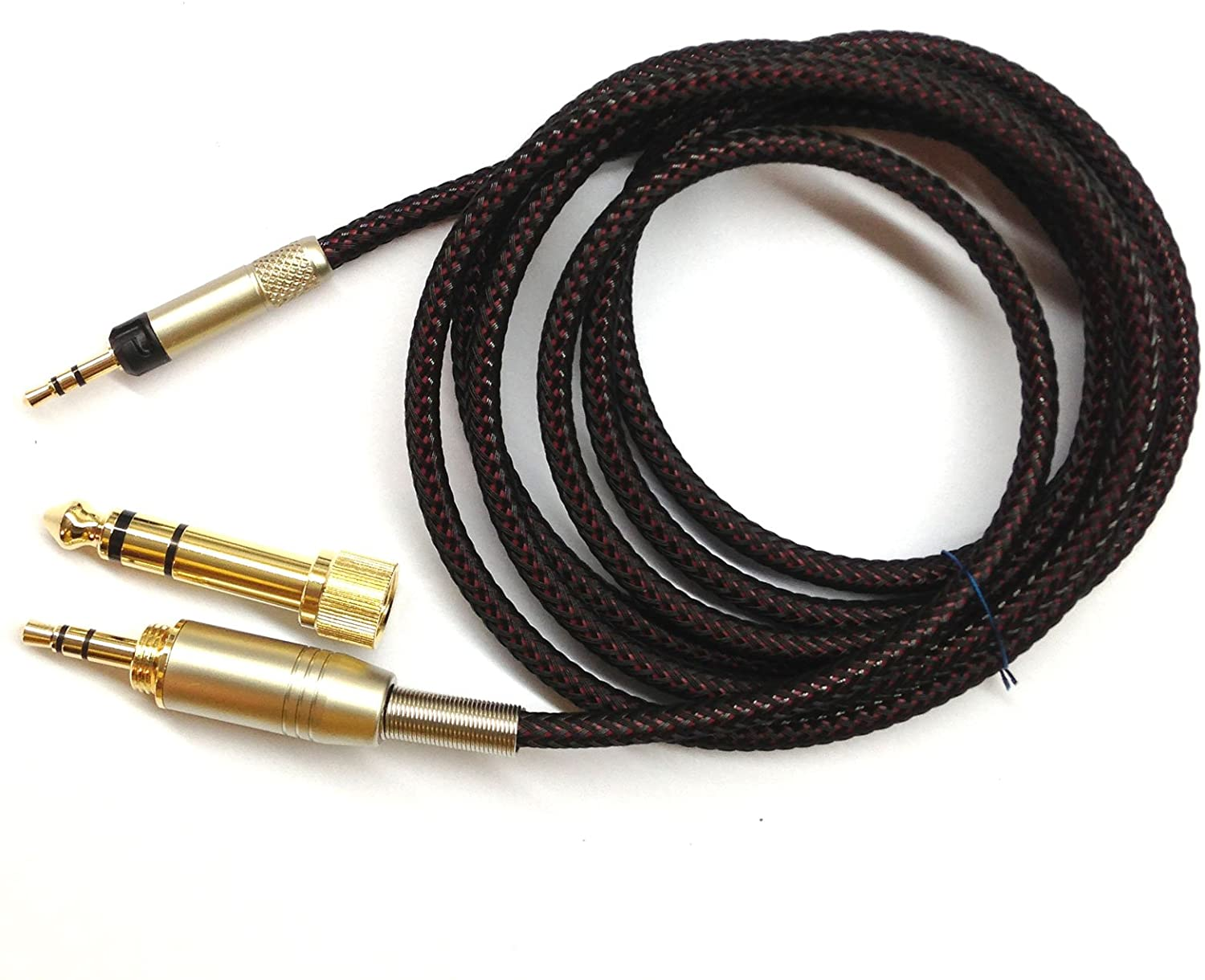 NewFantasia Replacement Upgrade Cable for Audio Technica ATH-M50x, ATH-M40x, ATH-M70x Headphones 1.2meters/4feet