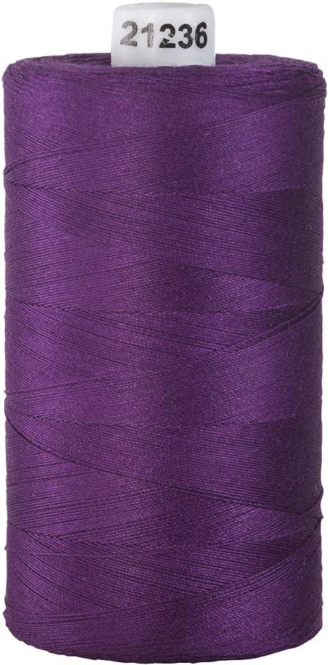 Royal Purple Connecting Threads 100/% Cotton Thread 1200 Yard Spool