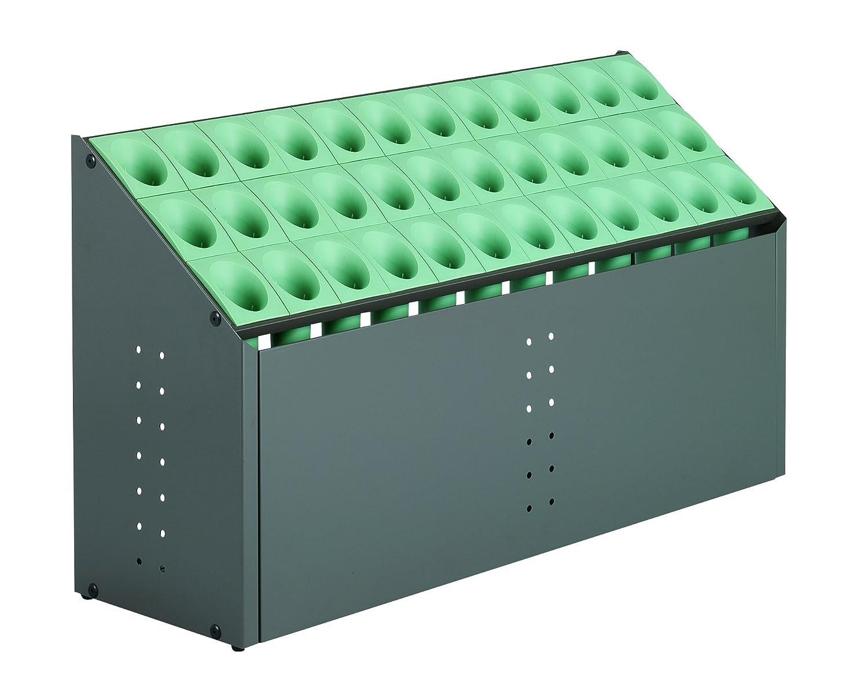 テラモト オブリークアーバン C36 全4色 全4サイズ 施設向け 傘立て グリーン 36本収納 UB-285-236 [正規代理店品] B0030B3C6K 20790 グリーン グリーン