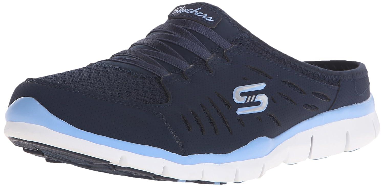 Navy lumière bleu 7.5 B(M) US Skechers Sport Wohommes No Limits Slip-On Mule paniers