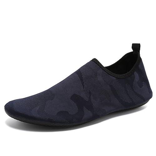 9250d96646a0 CIOR Lightweight Aqua Socks Quick-Dry Water Shoes Mutifunctional Barefoot  for Beach Pool Surf Yoga