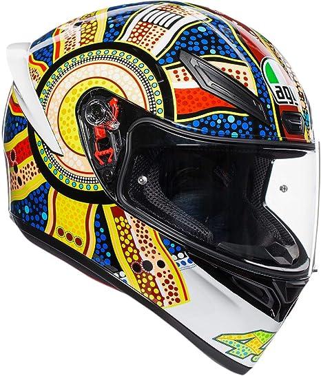 Amazon.com: AGV K1 Casco de moto de cara completa ...