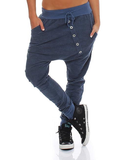 Moda Italy pantalones de chándal holgados pantalones novio de la mujer de moda  pantalones deportivos pantalones deportivos de algodón Corte amplio  ... bd0a56db3ed09
