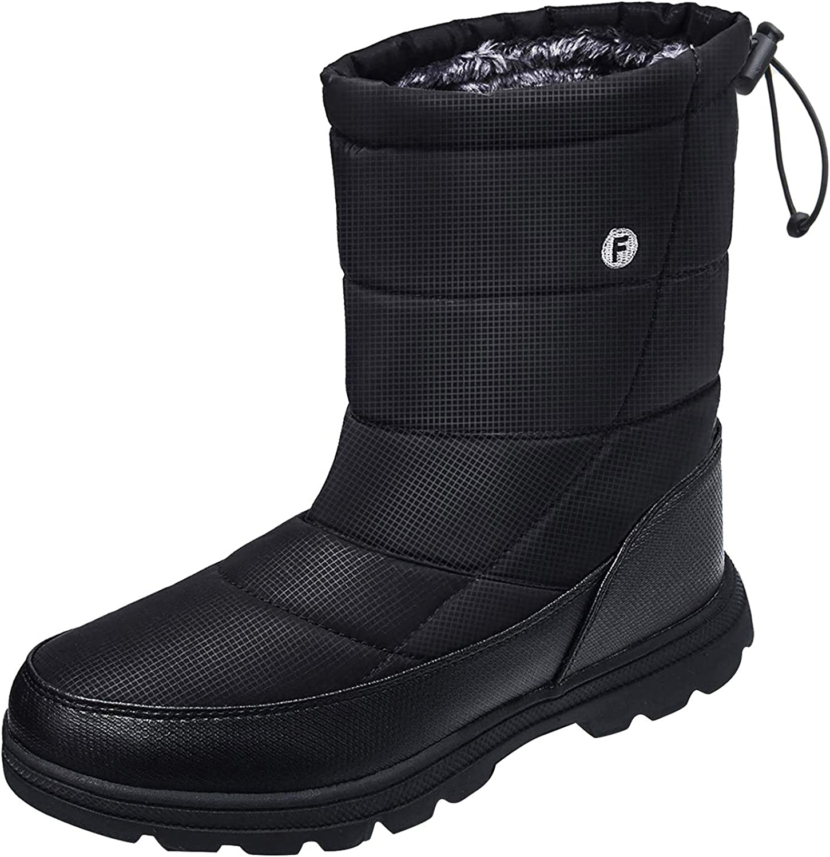Crova Mens Womens Snow Boots Winter