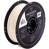 HATCHBOX Silk PLA 3D Printer Filament, Dimensional Accuracy +/- 0.03 mm, 1 kg Spool, 1.75 mm, White