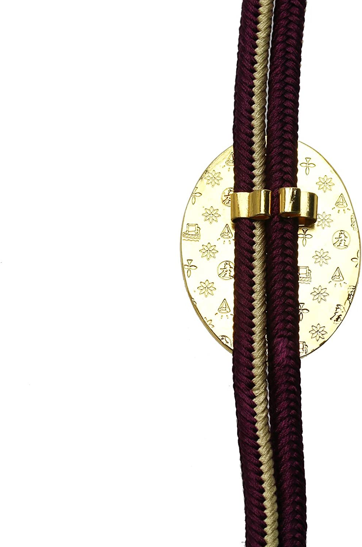 TAMARUSAN Bolo Tie Cat Silk Handmade Mens Necklace