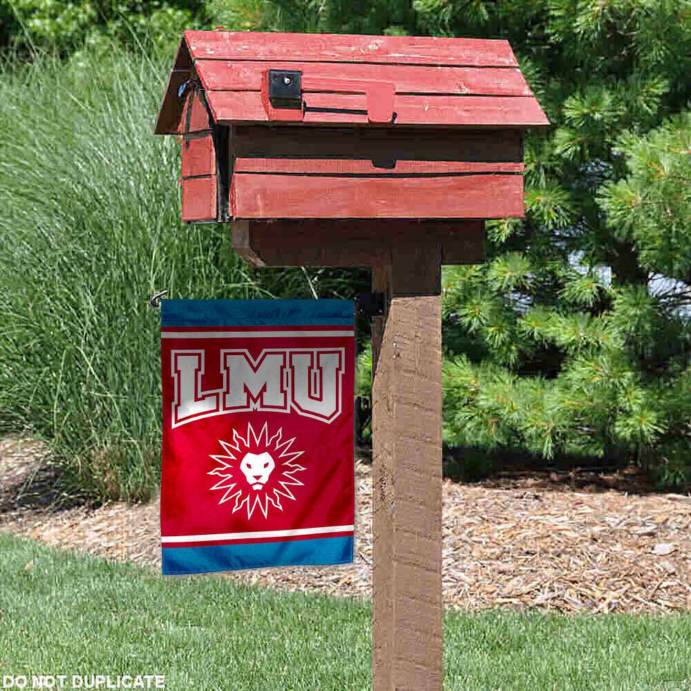 College Flags and Banners Co Loyola Marymount Lions Double Sided Garden Flag