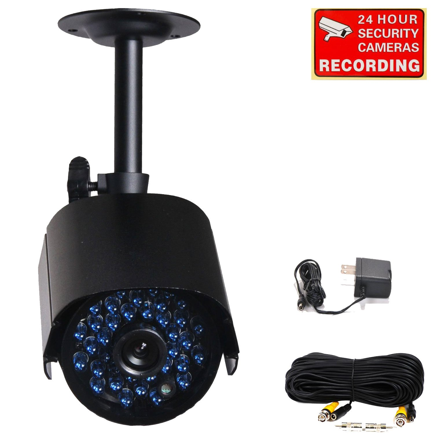 Amazon.com : VideoSecu Infrared Day Night Outdoor Bullet Security ...