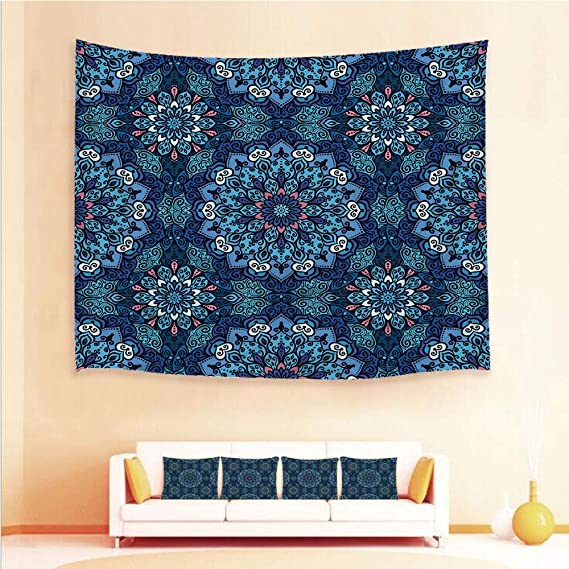 Amazon.com: 1pcs Hanging Tapestry and 4pcs Pillow case,Wall ...