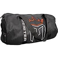 Meister Classic Breathable Chain Mesh Duffel Gym Bag - Black
